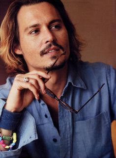 Mr. Depp, amazing. For more photos of Johnny Depp looking flawless, check out Wonderwall's style.