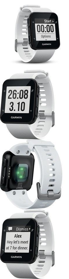GPS and Running Watches 75230: Garmin Forerunner 35 Gps Running Fitness Watch Large White New Free Shipping BUY IT NOW ONLY: $199.99