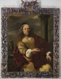 KONICA MINOLTA DIGITAL CAMERA Ferdinand Bol (1616-80), Portrait of a man, 1663, 124 x 100 cm, Rijksmuseum.  Research into the form and function of the 17th century picture frame in the Netherlands was fundamentally altered by the work of P.J.J. van Thiel and C.J. de Bruyn Kops; their effort – and the effect it had in institutions around the world – should never be forgotten. Van Thiel, a former curator of 17th century paintings in the Rijksmuseum, was passionate on the subject of historic…
