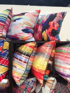 TRENDSPOTTING AT DWELL |  FJS PILLOWS | Dwell on Design 2013