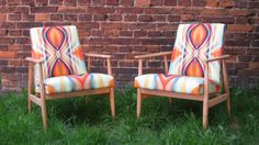 Bliss fabric from Parris Wakefield @SPWadditions on polish designers armchairs. http://wzorywidze.pl/shop/products/show/id/2646