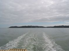 On the ferry boat Russell - Paihia, Bay of Islands