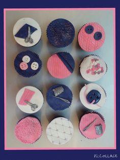 Naaiwerk  cupcakes