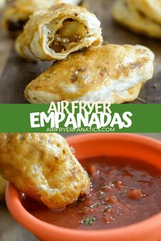 Make these easy and tasty Air Fryer Empanadas in minutes using a push pastry in the your air fryer or the Ninja Foodi! Homemade Salsa, Homemade Taco Seasoning, Air Fryer Dinner Recipes, Air Fryer Recipes, Puff Pastry Sheets, Peeling Potatoes, Dough Recipe, Empanadas, Us Foods
