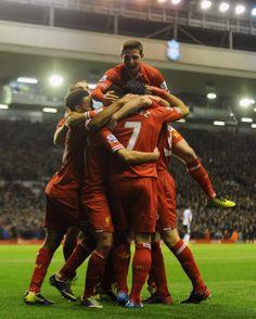 4 for Suarez against Norwich! #LFC