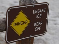 Unsafe Ice ©Clark Anderson. Wild Bird Company of Boulder, CO Saturday Morning Bird Walk in Boulder County - January 10, 2015.