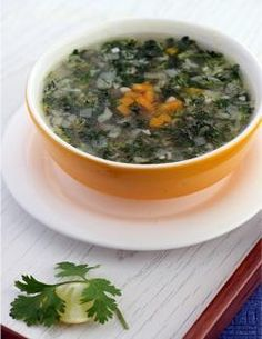 Relish this vitamin c rich soup made using lemon, coriander, carrots and cabbage. Vegetable stocks used also improve the vitamin c levels of this recipe. Enjoy it piping hot during winter days!