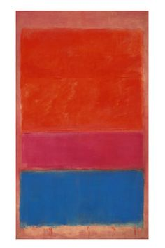 """This Mark Rothko abstract sold for $75 million in a contemporary-art auction whose total—$375 million—surpassed any in Sotheby's company history. Fittingly, the Rothko painting is titled, """"No. 1 (Royal Red & Blue)."""""""