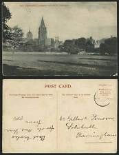 Oxford Christ Church Cathedral Oxfordshire Old Postcard