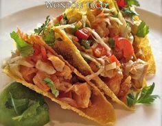 Wonton Taco - All food Recipes