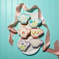 Monte-Carlo 6-pack Teacup Floral Cookies