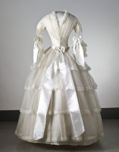 wedding dress 1854