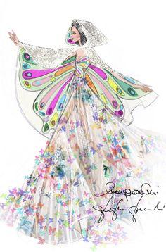 Katy Perry: un vestuario de cuento de hadas Valentino