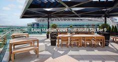 Hilton London Wembley Hotel, UK - Sky Bar & Roof Terrace