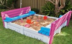 A sandpit so cool - you'll want to build it!
