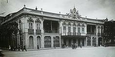 Teatro Lírico - rua da Velha Guarda atual av. 13 de maio, Demolido em 1934