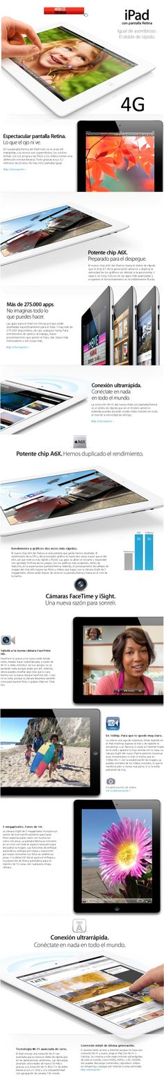 Comprar apple ipad 4 64gb 4g | venta de apple ipad 4 64gb Argentina