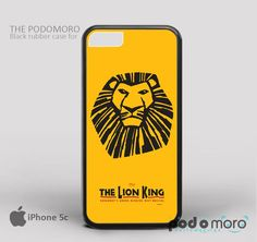 The Lion King for iPhone 4/4S, iPhone 5/5S, iPhone 5c, iPhone 6, iPhone 6 Plus, iPod 4, iPod 5, Samsung Galaxy S3, Galaxy S4, Galaxy S5, Galaxy S6, Samsung Galaxy Note 3, Galaxy Note 4, Phone Case