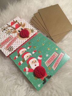 5 Luxus Weihnachtskarten Advent Weihnachten Karten Briefumschlag Umschlag Fest    eBay