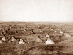 A Sioux village in the Pine Ridge Indian reservation. Description from herndonapush.wikispaces.com. I searched for this on bing.com/images
