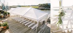 creekside ceremony at The Cottage on the Creek on Shem Creek Charleston, SC // photography by: lindseyamiller.com