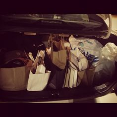A day long shopping spree #mytrunk