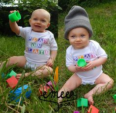 Play on Playa Funny Baby Clothes Trendy Baby Hipster by EmeeJoCo