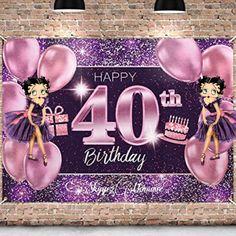 Happy 40th BirthDay, Betty Boop Happy 40th Birthday Betty Boop Birthday, Happy 40th Birthday, Spice Mixes, Spice Blends, Happy 40 Birthday, Seasoning Mixes