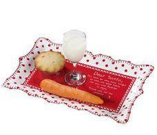 Santa Platter / Christmas Plate / Talking Tables | eBay