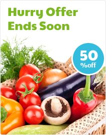 Hurry now fruit and veggie lovers out there