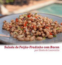 Que tal tentar fazer essa salada de feijão-fradinho com bacon na sua casa? Esta receita da Chef Giada de Laurentiis é super rápida e saborosa.