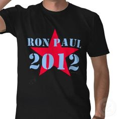 Vote Ron Paul for President 2012 Election Shirt