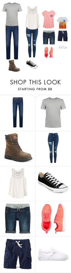 """Reality"" by haileyvontz ❤ liked on Polyvore featuring True Religion, MICHAEL Michael Kors, Itasca, Topshop, RVCA, Converse, Disney, Carter's and Vans"
