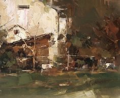 Summer Time by Tibor Nagy Oil ~ 8 x 10