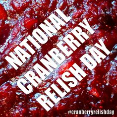 Cranberry Relish, November, Bottle, Day, Food, Meal, Flask, Essen, Hoods