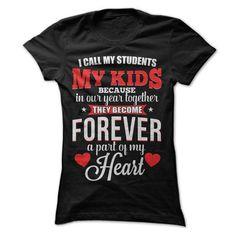 I call my students my kids T Shirts, Hoodies. Get it now ==► https://www.sunfrog.com/Jobs/I-call-my-students-my-kids.html?41382