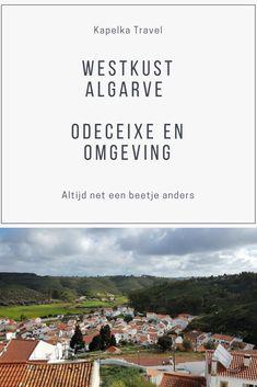 Odeceixe, een typisch Portugees dorp met witte huizen en smalle straatjes. Halverwege de heuvel, hoger dan de kerk, prijkt een mooie oude witte molen.  In deze blog vertel ik over de twee wandelingen die we hier in de omgeving hebben gemaakt en geef ik een sfeerbeeld van het dorp.
