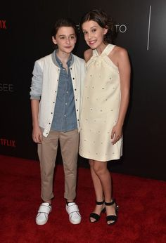 millie bobby brown x noah schnapp
