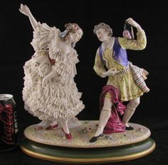 Antique-german-porcelain-lace-figurine-dresden-volkstedt-grouping-large