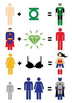 JLA math (#Batman is priceless)