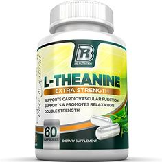 BRI Nutrition 200mg L-Theanine Enhanced with 100 mg of Inositol - 60 Count 200mg L Theanine Veggie Capsules >>> You can find out more details at the link of the image.