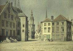 The apple market and the town hall