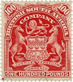 The most important stamp of Rhodesia. British South Africa Company. One Hundred Pounds. Purchase this nostalgia product for any old Rhodesian. Framed Wall Art, Framed Art Prints, Canvas Prints, Off Colour, Transparent Stickers, Sticker Design, Sell Your Art, Vibrant Colors, Print Design
