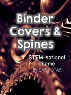These are a great way to add a theme to your binders. There are a variety of choices. I uploaded them in PowerPoint so you can add labels to the binders. I have also included editable spines to match.