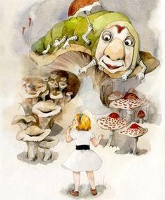 Alice in Wonderland  by boyeon choi