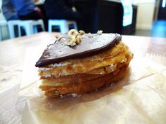 Sugar Rush: Nutella Crepe Cake at Du Jour Bakery | Serious Eats : New York