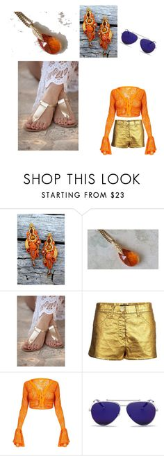 """""""goldfish"""" by veniad ❤ liked on Polyvore featuring Chanel and Alexander McQueen"""
