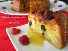 Receta Pudin de manzana y pasas en microondas, para Vegarabia - Petitchef