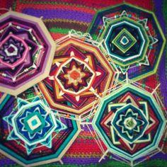 Mandalas de lana