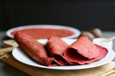 Boekweit bieten wraps - Beaufood Lunch Wraps, Healthy Wraps, Tuna, Sausage, Pancakes, Sandwiches, Paleo, Fish, Meat